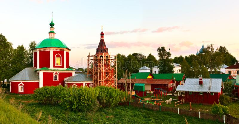 Dormition of The Theotokos Cathedral in Suzdal.