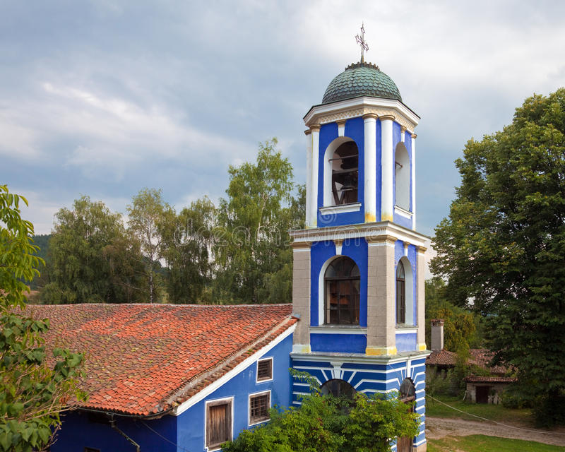 Dormition of the Theotokos Church stock photo