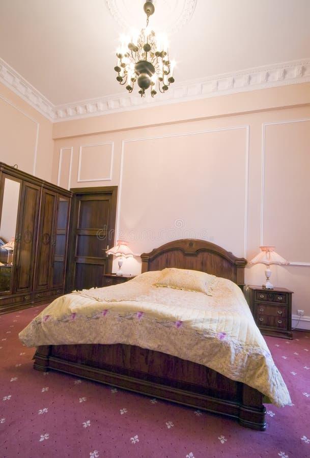 Dormitorio de la vendimia fotos de archivo
