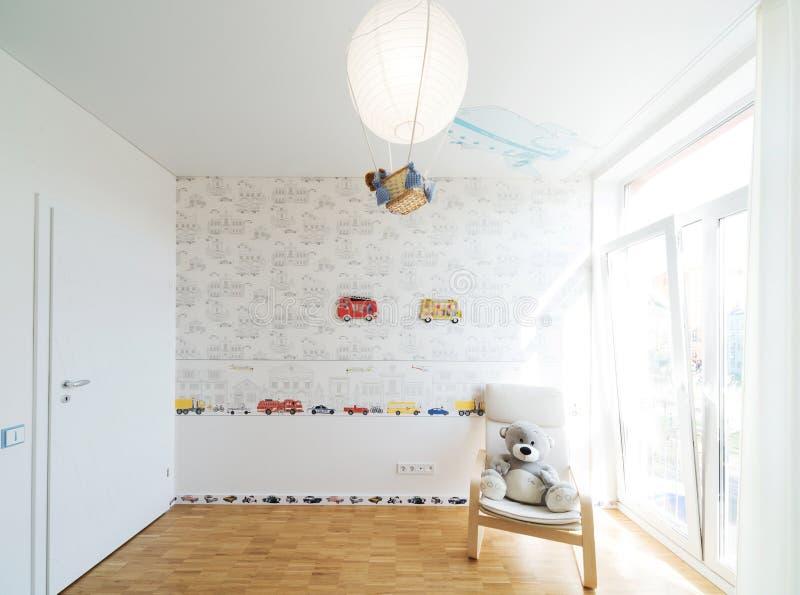 Dormitorio del bebé imágenes de archivo libres de regalías