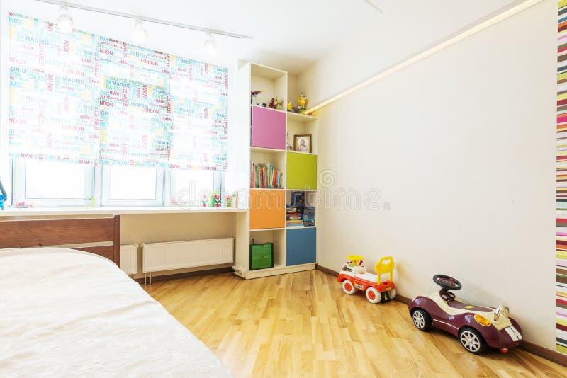 Dormitorio del bebé fotos de archivo
