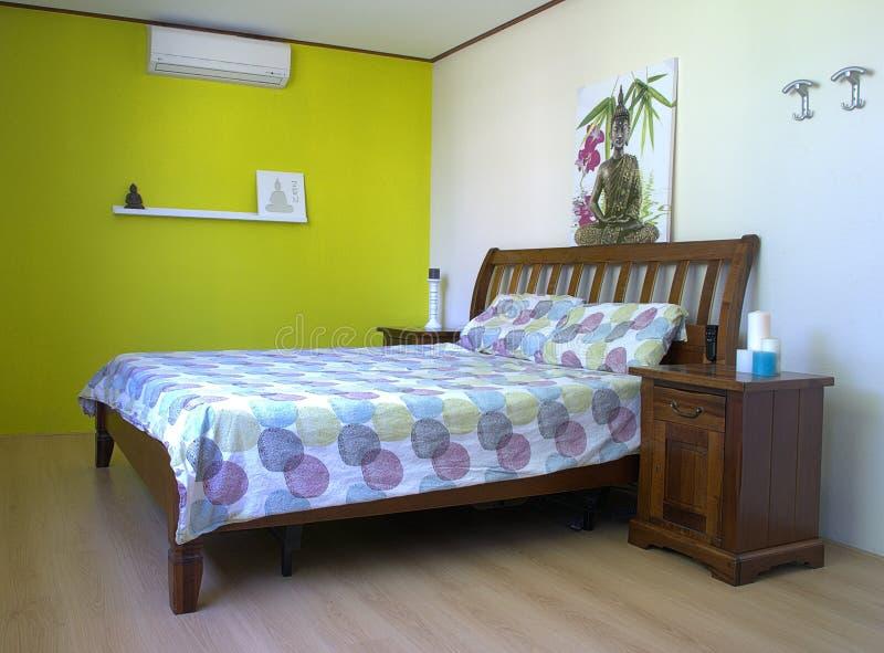 Dormitorio del diseño interior fotos de archivo