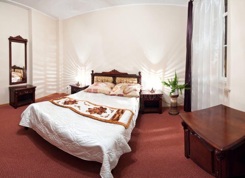 Dormitorio del hotel fotos de archivo libres de regalías