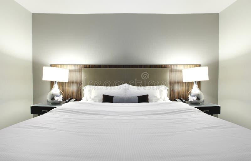 Dormitorio del hotel fotos de archivo