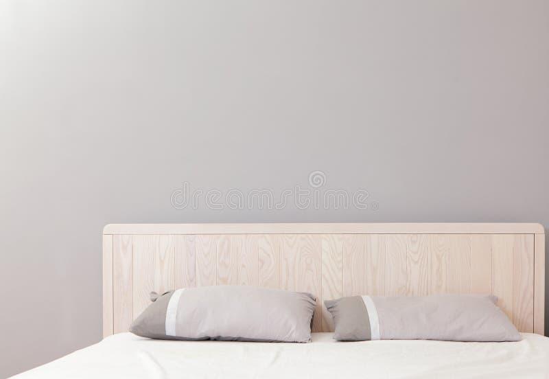 Dormitorio doble moderno fotografía de archivo