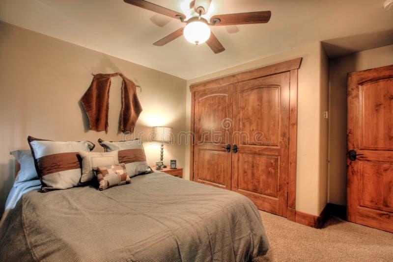 Dormitorio moderno foto de archivo