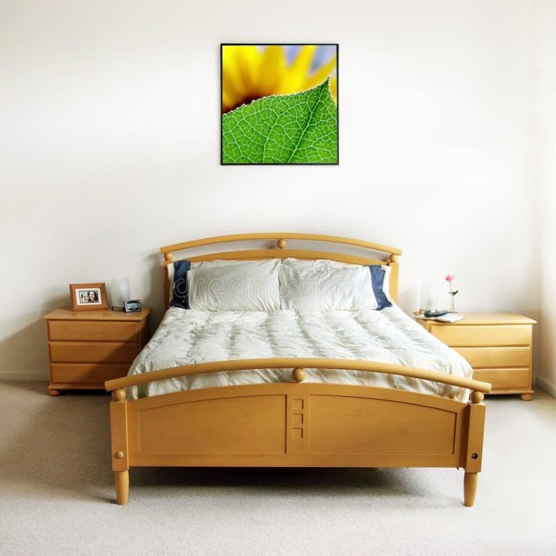 Dormitorio moderno fotos de archivo