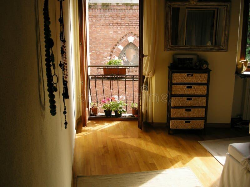 dormitorio romántico del ambiente imágenes de archivo libres de regalías