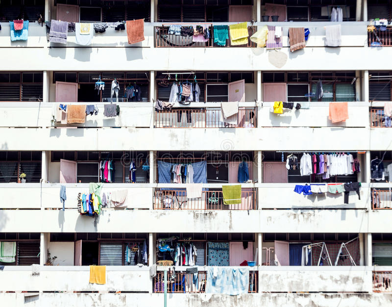 dormitorium życie Tajlandia obrazy stock