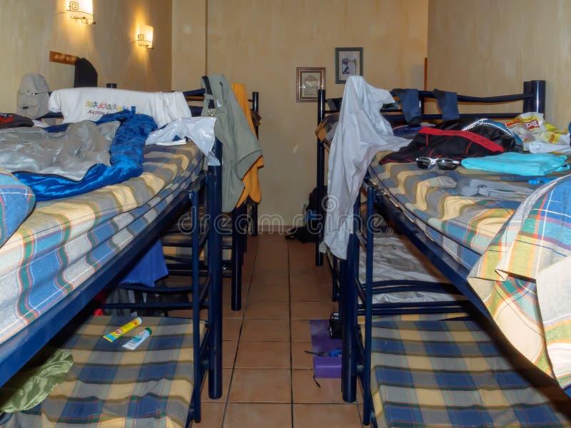 Dormitorium pokój - Ventosa zdjęcie royalty free