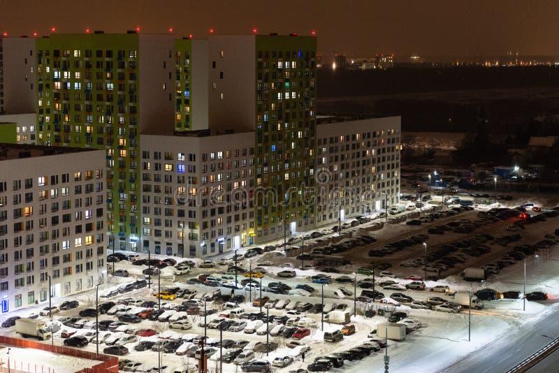 Dormitorium przedmieście Moskwa obrazy royalty free