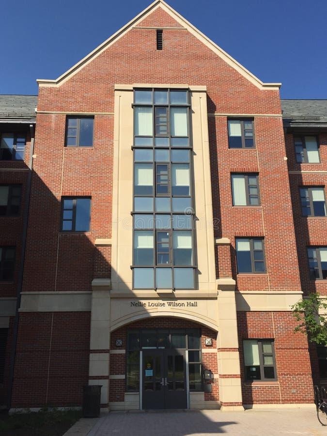 Dormruimten bij de Universiteit van Connecticut ( UConn) in Storrs, Connecticut stock afbeelding
