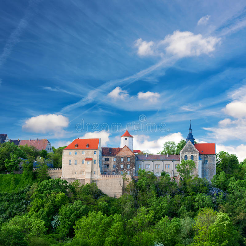 Dornburg kasztel w Thuringia, Niemcy obraz stock
