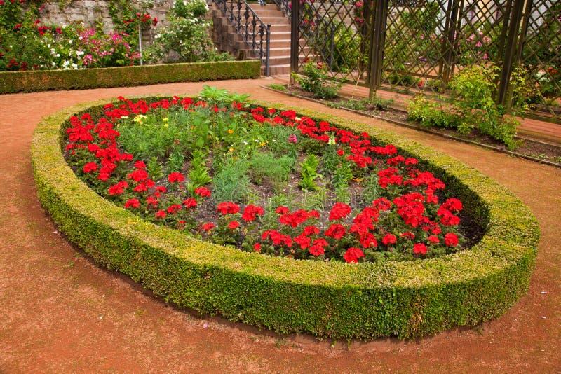 Dornburg ogródy zdjęcie stock