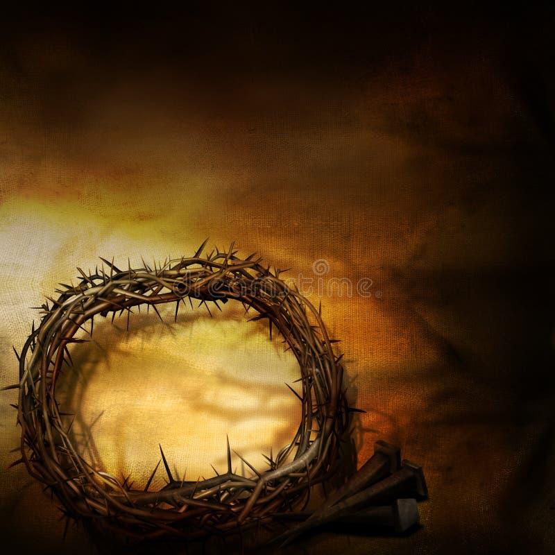 Download Dornenkrone stockfoto. Bild von jesus, bescheidenheit - 23388554