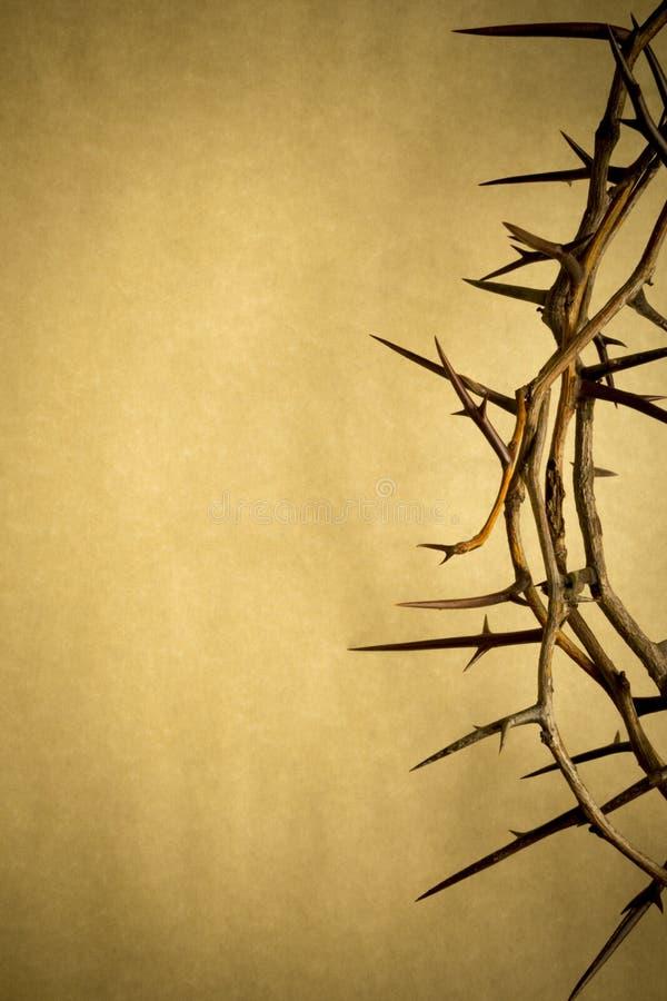 Dornenkrone stellt Jesus Crucifixion an Karfreitag dar stockfoto