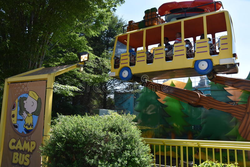 Dorney Park in Allentown, Pennsylvania royalty free stock photos
