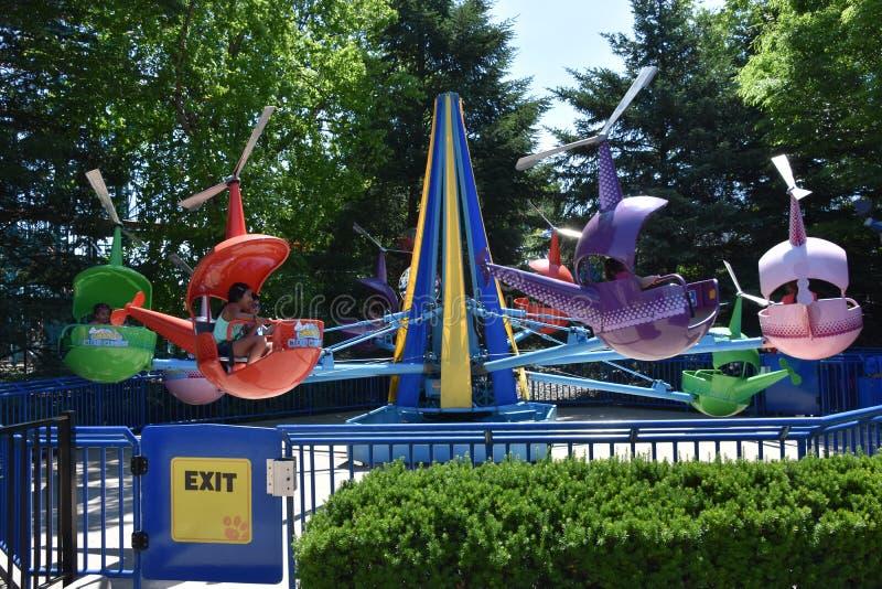 Dorney Park in Allentown, Pennsylvania stock photos
