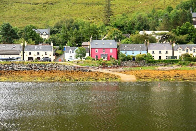 Dornie, Escocia imagen de archivo libre de regalías