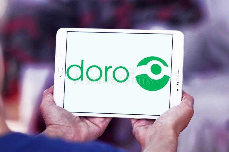 Doro技术公司商标 库存照片