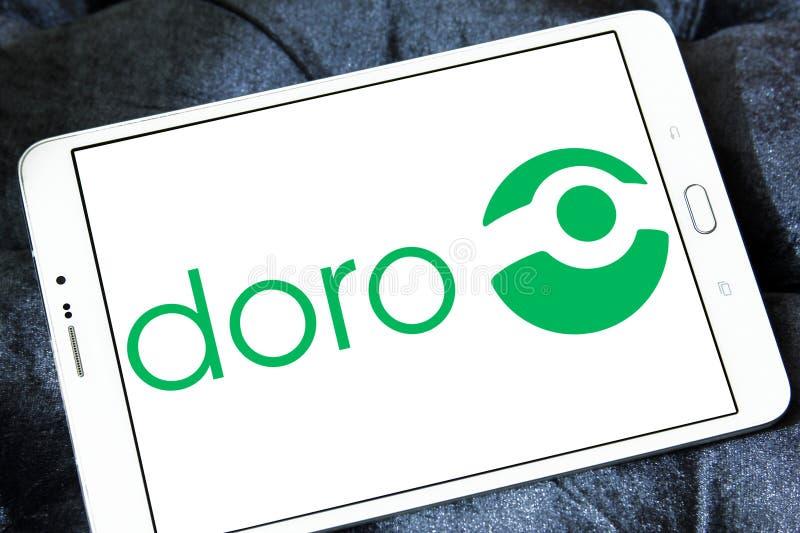 Doro技术公司商标 免版税库存图片