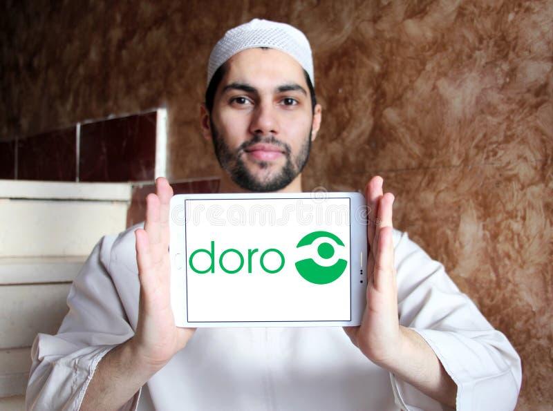 Doro技术公司商标 库存图片