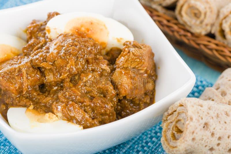 Download Doro Wat stock image. Image of gravy, chicken, cooked - 35622911