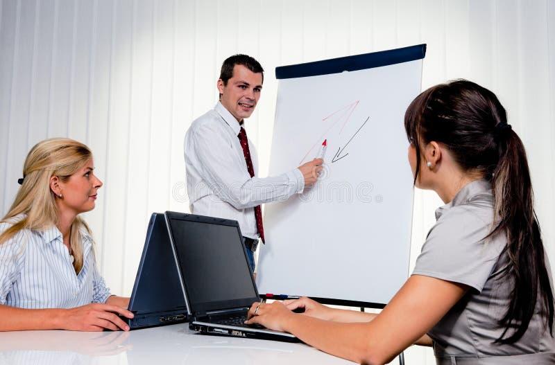 dorosłych edukaci personelu szkolenie obraz stock