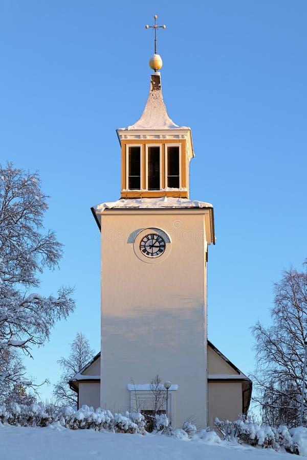 Free Dorotea Church In Winter, Sweden Stock Photo - 28949710