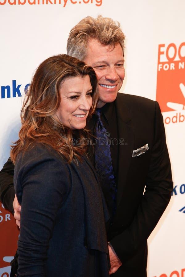 Dorothea Hurley, Jon Bon Jovi immagini stock libere da diritti
