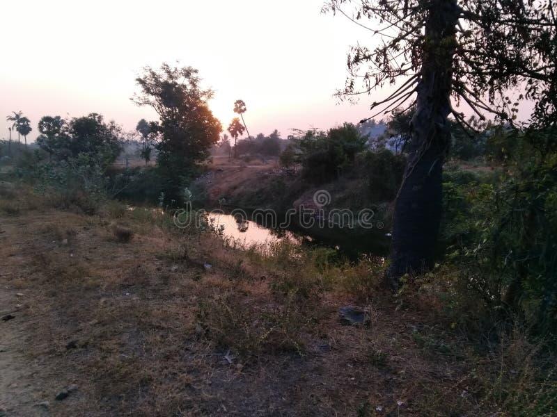 dorp stock foto