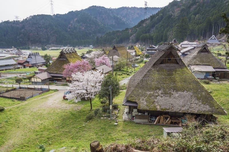 Dorp Miyama in Kyoto, Japan royalty-vrije stock afbeelding