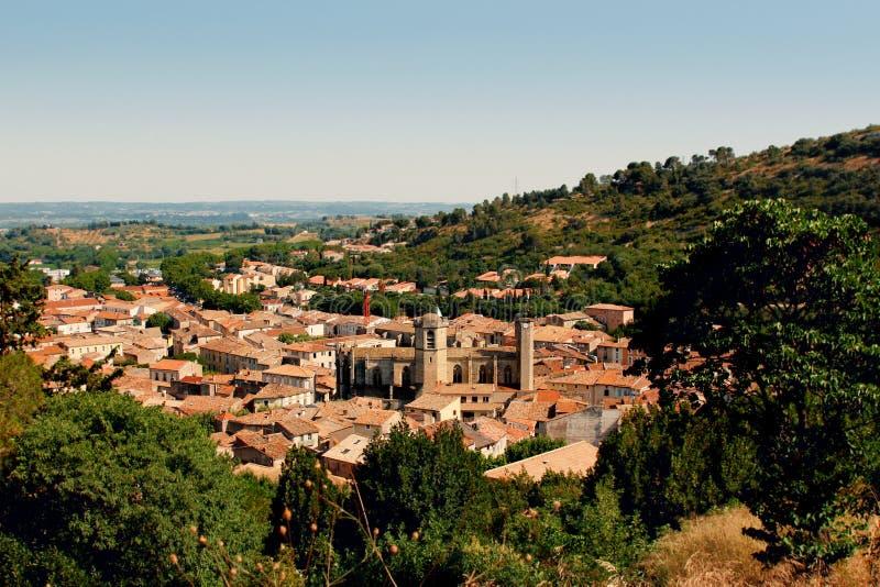 Dorp van de Provence Frankrijk stock foto