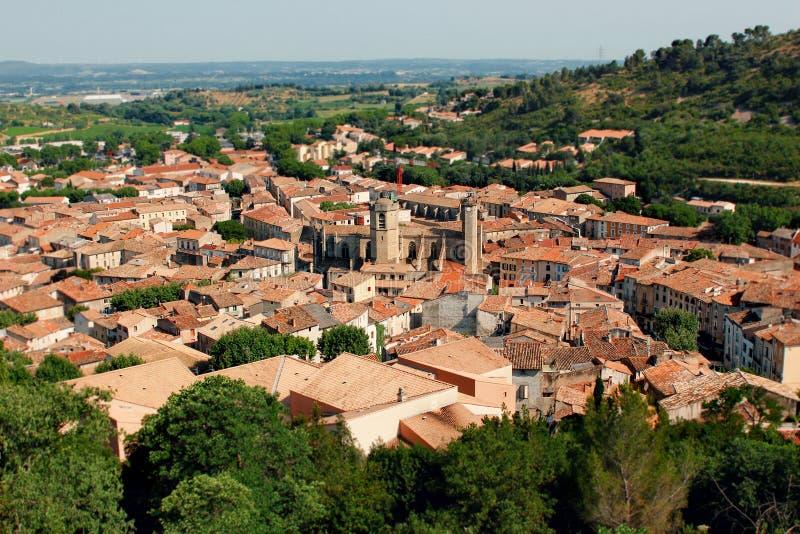 Dorp van de Provence Frankrijk royalty-vrije stock fotografie