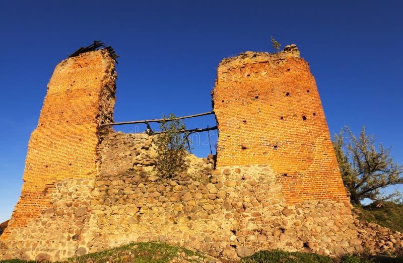 dorp van Krevo, Wit-Rusland royalty-vrije stock foto