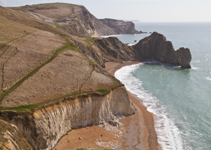 Download Dorset Coastline Looking Down On Durdle Door Stock Photo - Image: 13536592