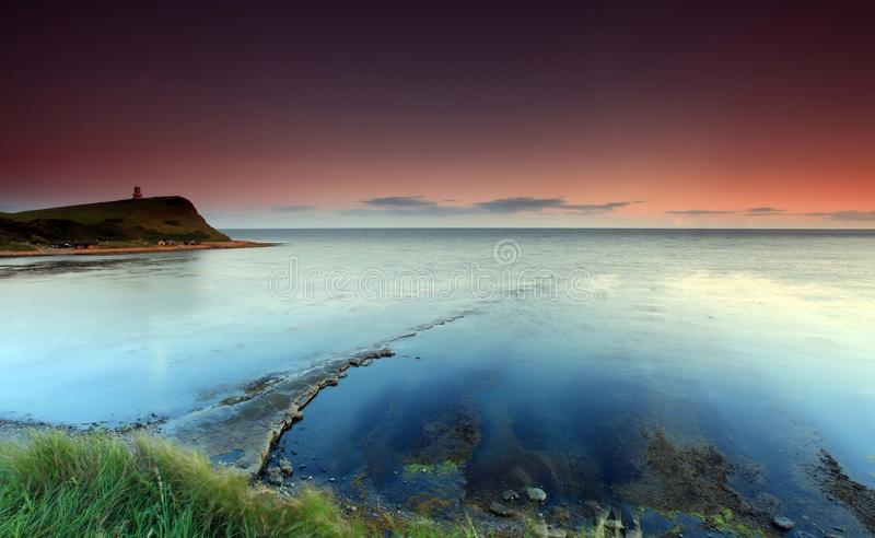 Dorset England Kimmeridge Bay royalty free stock photo