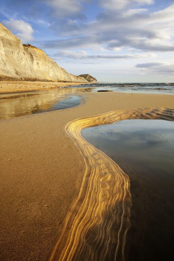 Dorset Jurajski wybrzeże obrazy stock