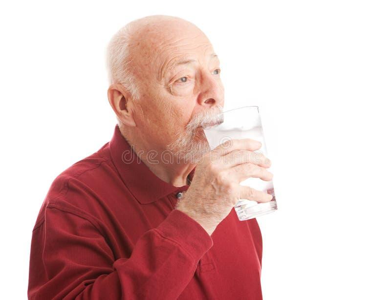 Dorst die Gefiltreerd Water doven royalty-vrije stock afbeelding