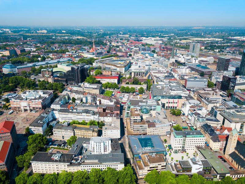 Dortmund City Centre Aerial View Stock Photo Image Of