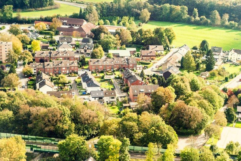 Dortmund Duitsland van hierboven royalty-vrije stock foto's