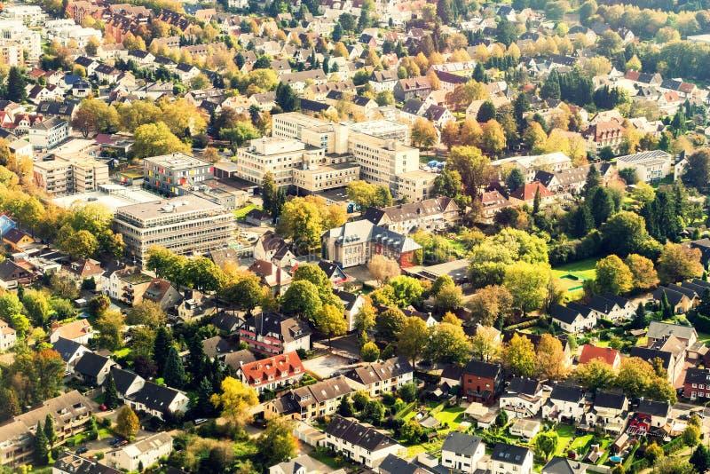 Dortmund Niemcy od above obraz royalty free