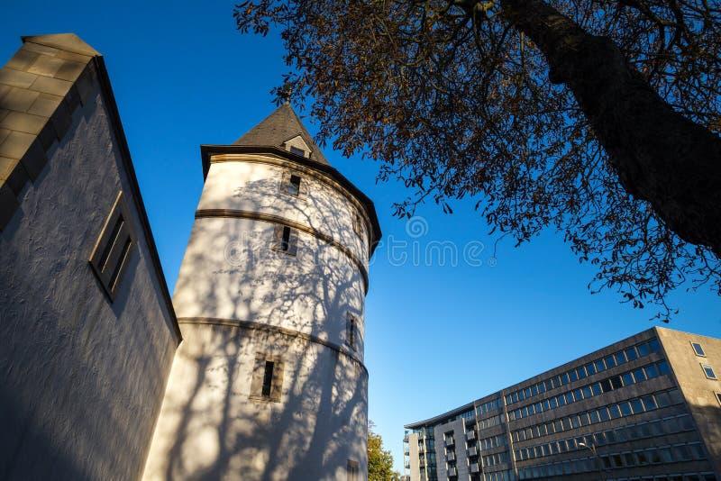 Dortmund Tyskland höstarkitektur fotografering för bildbyråer