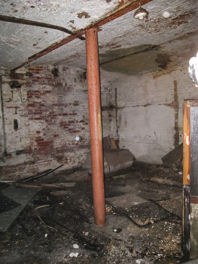 Dortoir de corps et de sous-sols dans Khamovniki images libres de droits