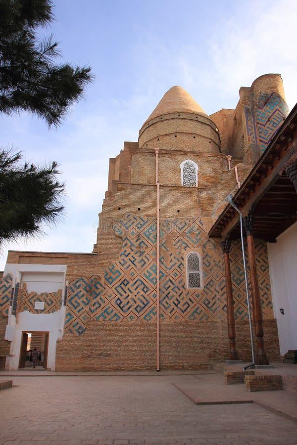 Dorus-Siadat w Shakhrisabz, Uzbekistan obraz royalty free
