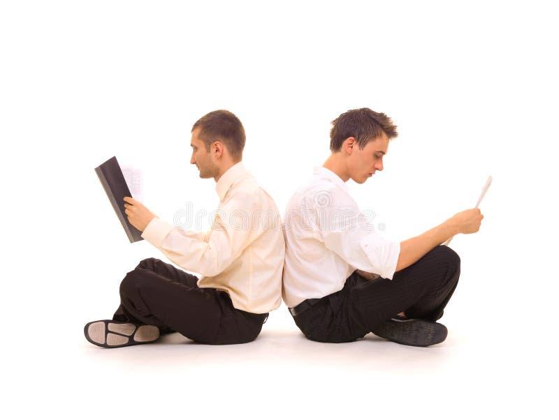Download Dos à dos photo stock. Image du bureau, businessman, commis - 5747092