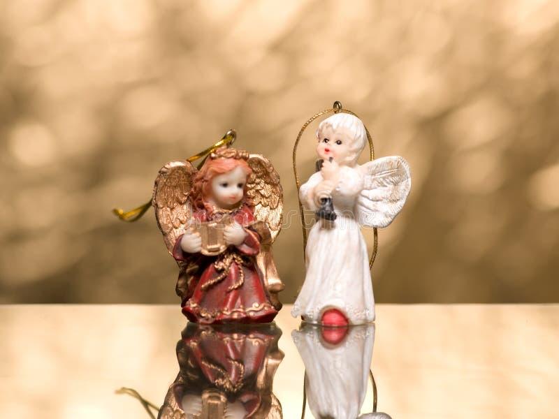 Dos ángeles foto de archivo