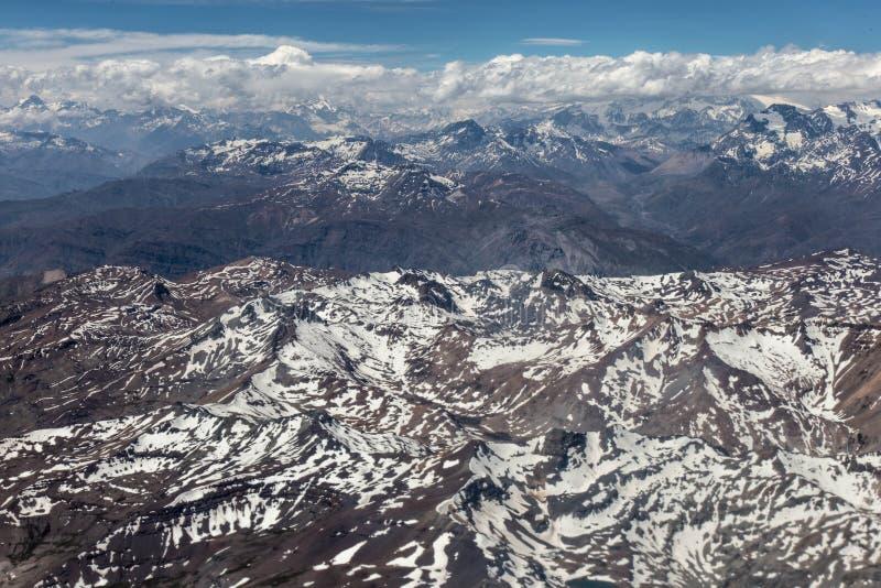 Dos Анды - Чили Cordilheira - лето стоковые изображения rf