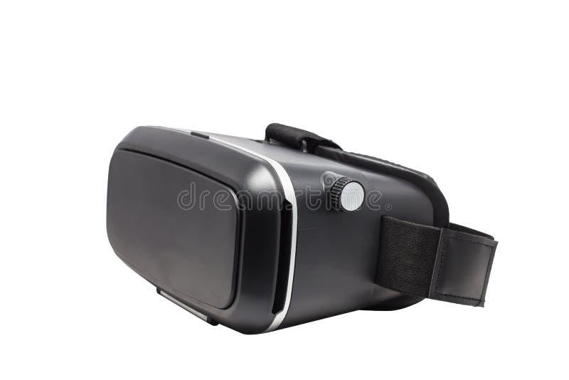 Dos acessórios inovativos video do equipamento de exposição dos dispositivos da tecnologia digital dos vidros da realidade virtua fotografia de stock
