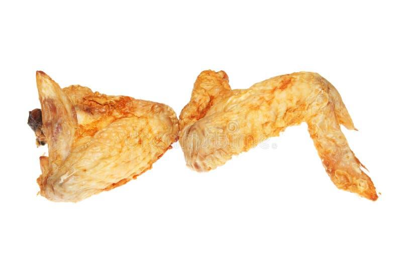 Dos alas de pollo foto de archivo